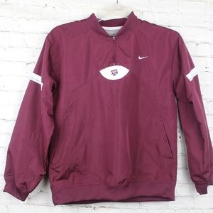 Nike Team Large Jacket Texas A&M Aggies Maroon Win